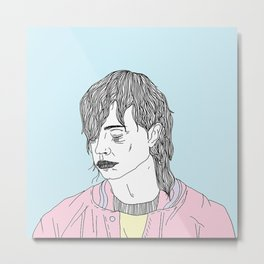 Julian Casablancas Metal Print