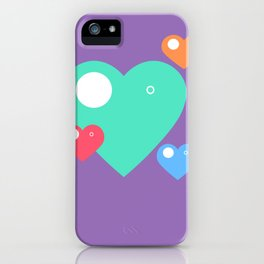 Happy Hsiao Hearts iPhone Case