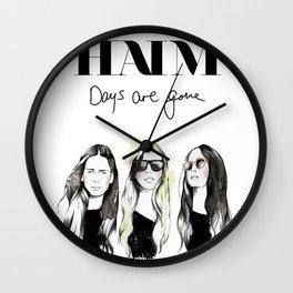 Haim Days are gone Wall Clock
