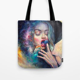 BLACK HOLE IN THE MILKY WAY Tote Bag