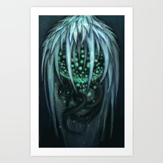 The Ice Demon Art Print