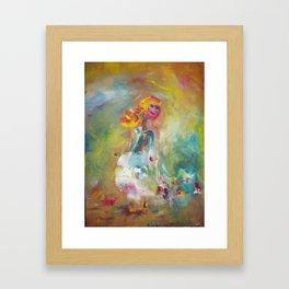 Nice! Framed Art Print