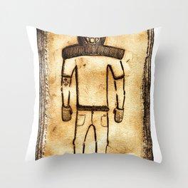 The Diver Throw Pillow