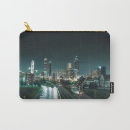 Atlanta skyline at night Carry-All Pouch