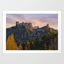 Castelo de Obidos, Estremadura, Portugal Art Print