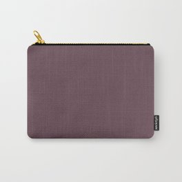 Dark Plum, Solid Color Collection Carry-All Pouch