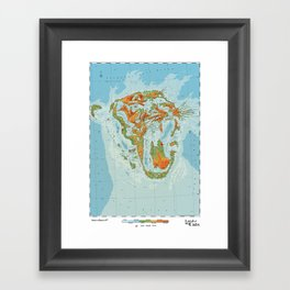 Pantherinae - Land of Big Cats Framed Art Print