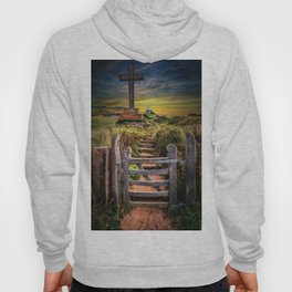 Gate to the Holy Island Hoody