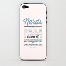 Nerds - John Green iPhone & iPod Skin