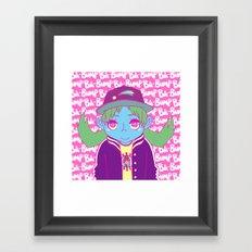 BA-BUMP Framed Art Print