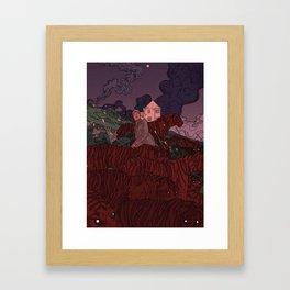 The Defend. Framed Art Print