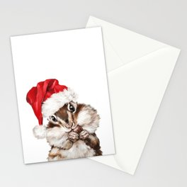 Christmas Squirrel Stationery Cards