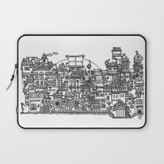 Busy City XI Laptop Sleeve
