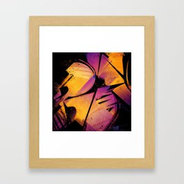 B--Abstract Framed Art Print