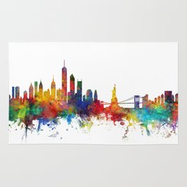 New York Skyline Rug