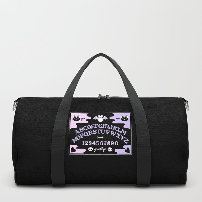Cute Ouija // Pastel Duffle Bag