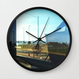 Mile High Layers 01 Wall Clock