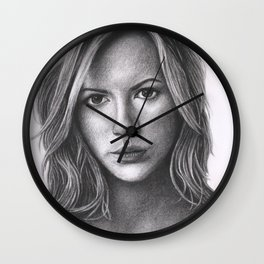 Kate Beckinsale Wall Clock
