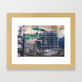 Memories of Spain 12 - Gran Via of Madrid  Framed Art Print