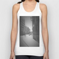 madrid Tank Tops featuring Madrid by Jane Lacey Smith