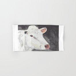 White Cow Hand & Bath Towel
