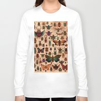 bugs Long Sleeve T-shirts featuring Love Bugs by Angela Rizza