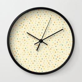 Coloured Dots Wall Clock