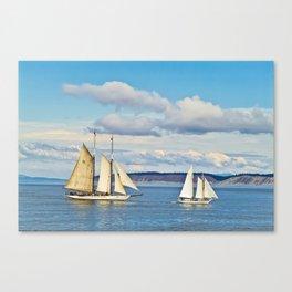 Puget Sound 1 Canvas Print