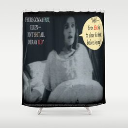 "'Ellen Hutter', FROM THE FILM "" Nosferatu vs. Father Pipecock & Sister Funk (2014)"" Shower Curtain"