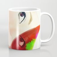 che Mugs featuring Che by Sheree Tampus