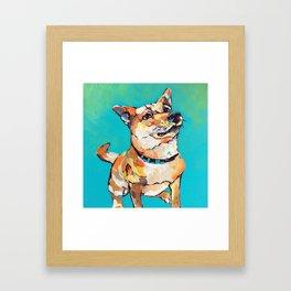 I See You Has Treats Framed Art Print