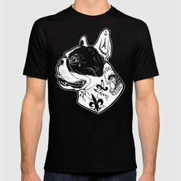 French Bulldog Tattooed Dog T-shirt