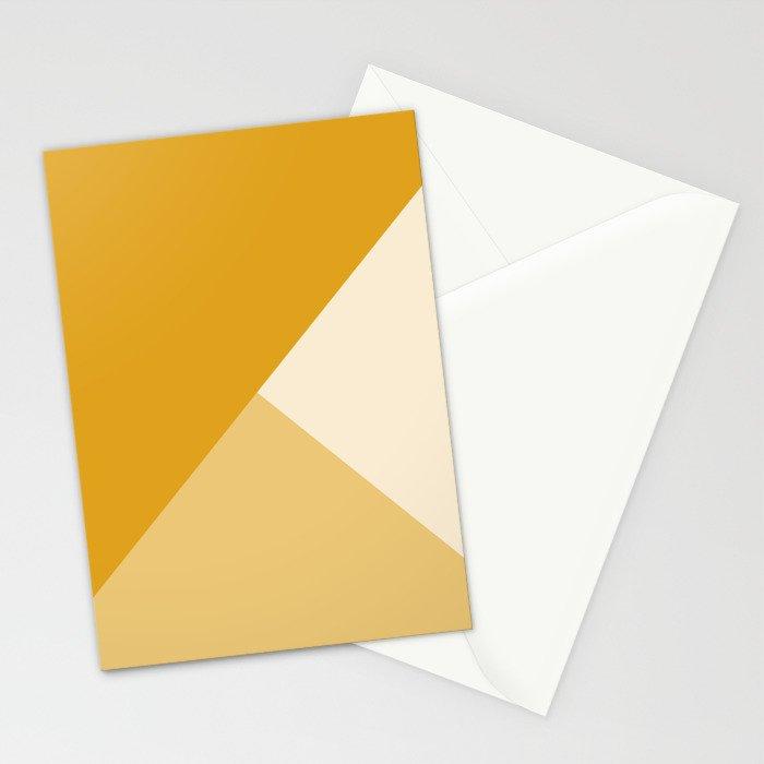 Mustard Tones Stationery Cards