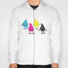 Four Ink Drops Hoody