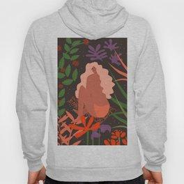 Girl in Botanic Garden Hoody