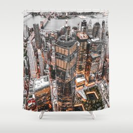 NEW YORK CITY XI Shower Curtain