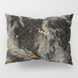 Galaxy (black gold) Pillow Sham
