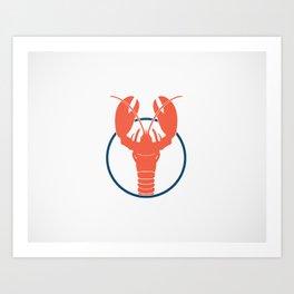 Lobster Lake Art Print