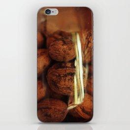 Nuts in a jar iPhone Skin