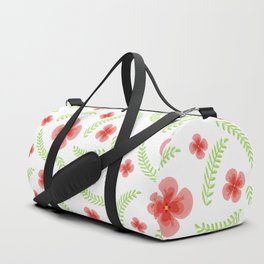 Happy floral pattern Duffle Bag