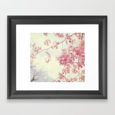Dreams In Pink Framed Art Print