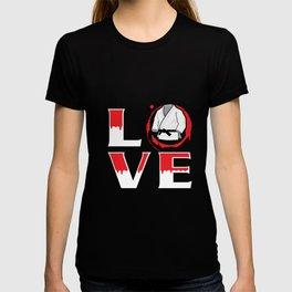 Love - Martial Arts Design T-shirt