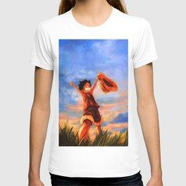 luffy happy T-shirt