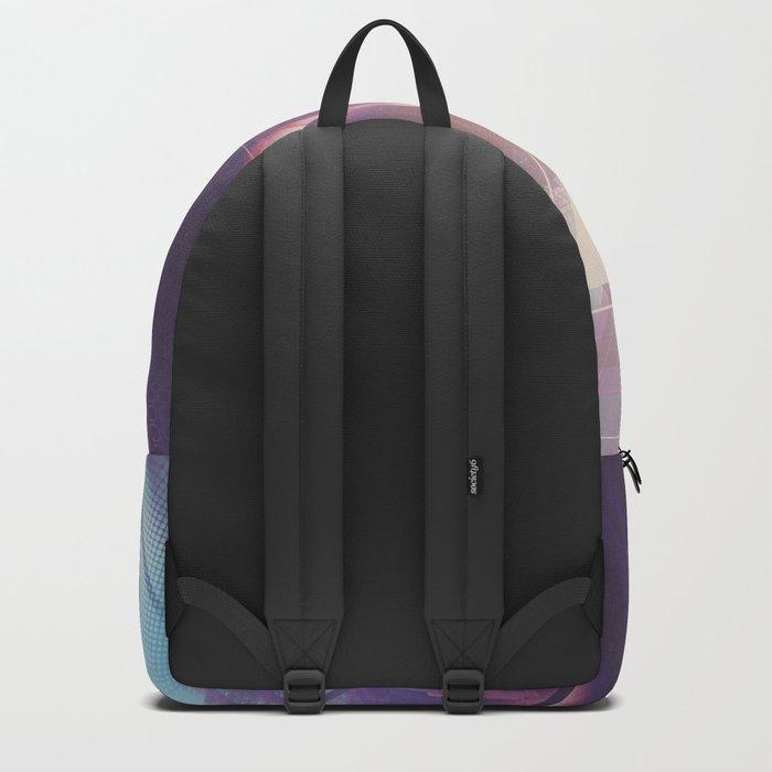 Future Skyline. Backpack