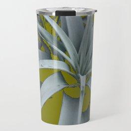 GRACEFUL GREY SUCCULENT GARDEN PLANT MODERN ART Travel Mug