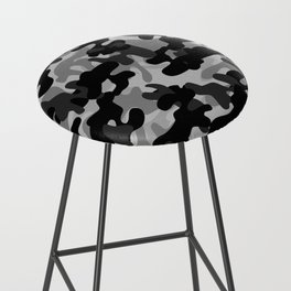 Camouflage (Gray) Bar Stool