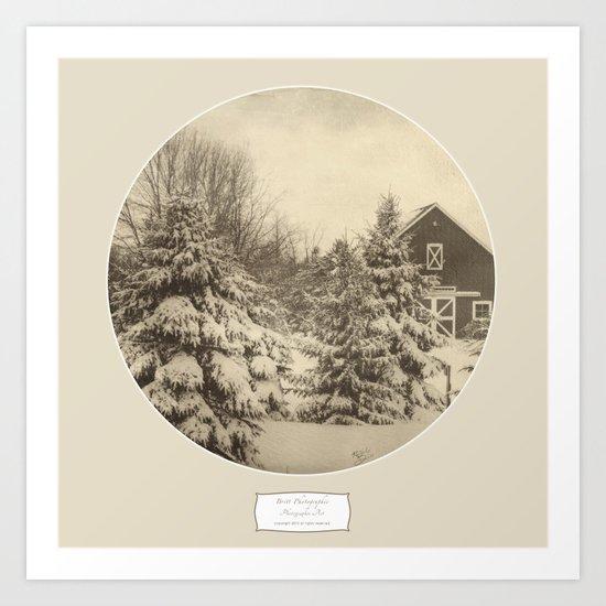 Winter Americana IV Art Print