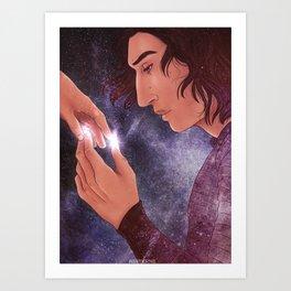 Scavenger Hands Art Print