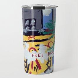 Checkpoint Charlie Travel Mug