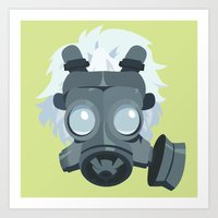 clear Art Prints featuring Clear. by Dani Does Art